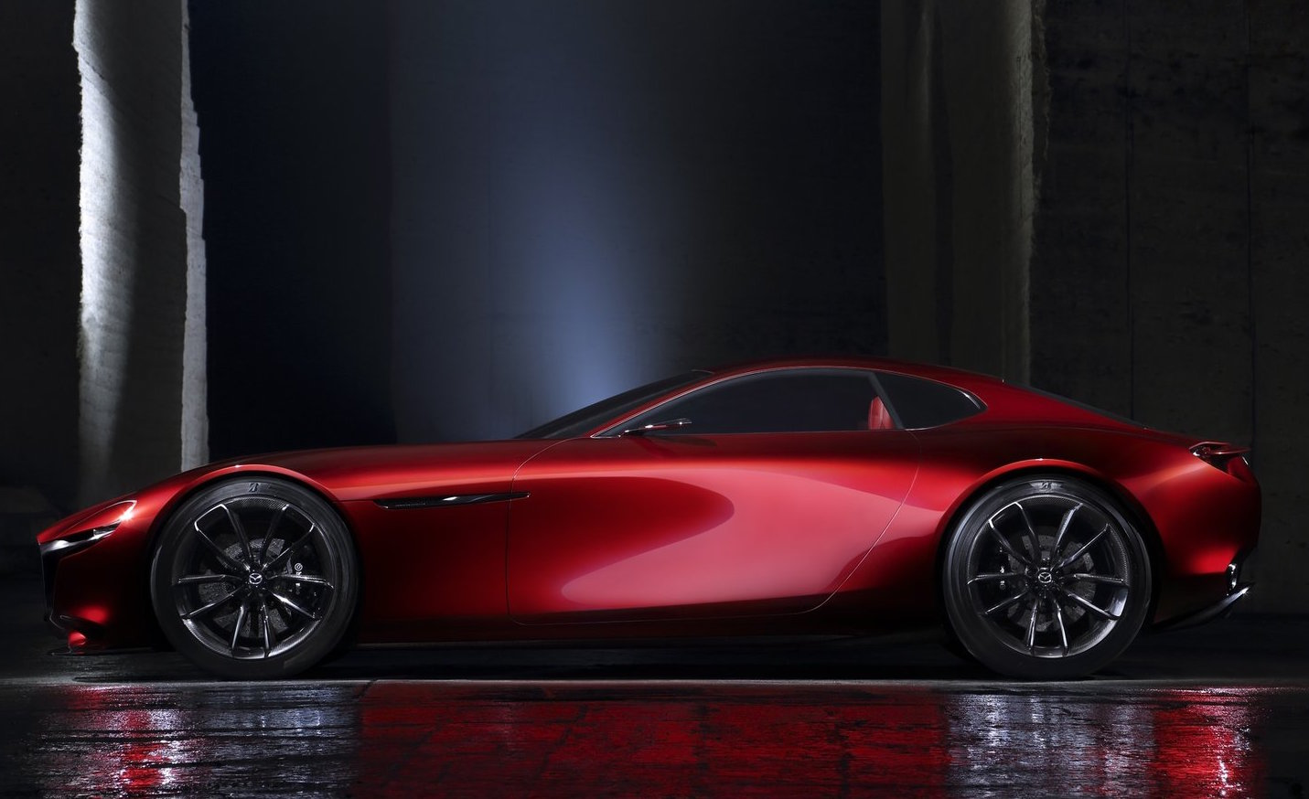 Mazda Has Previously Shown Its Potential Intensions For The Future Of A  Rotary Sports Car With The Mazda RX Vision Concept, Unveiled In 2015  (pictured).