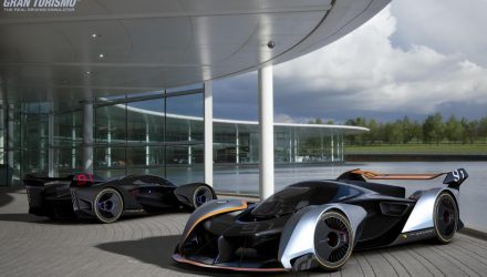 McLaren designs Ultimate Vision Gran Turismo concept (video)