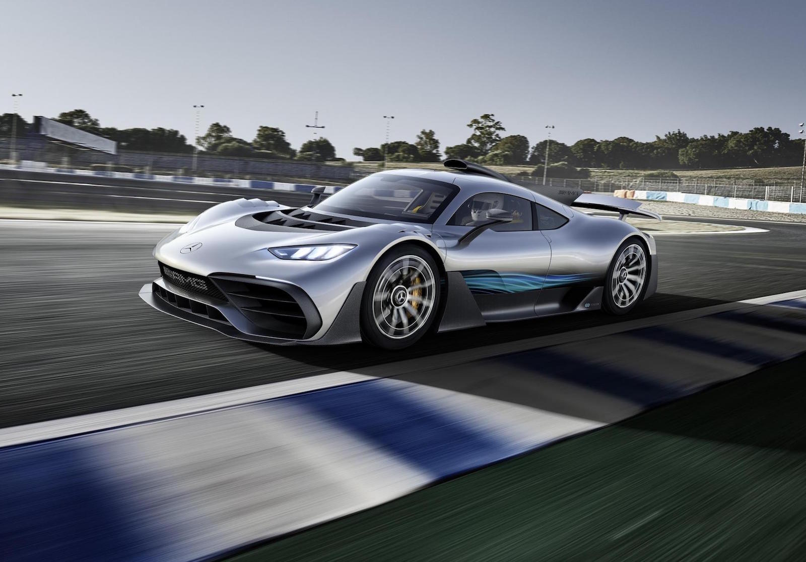 Mercedes-AMG Project ONE hypercar concept blasts in with 986bhp