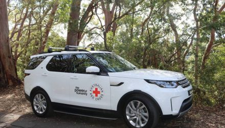 New Land Rover Discovery donated to Australian Red Cross