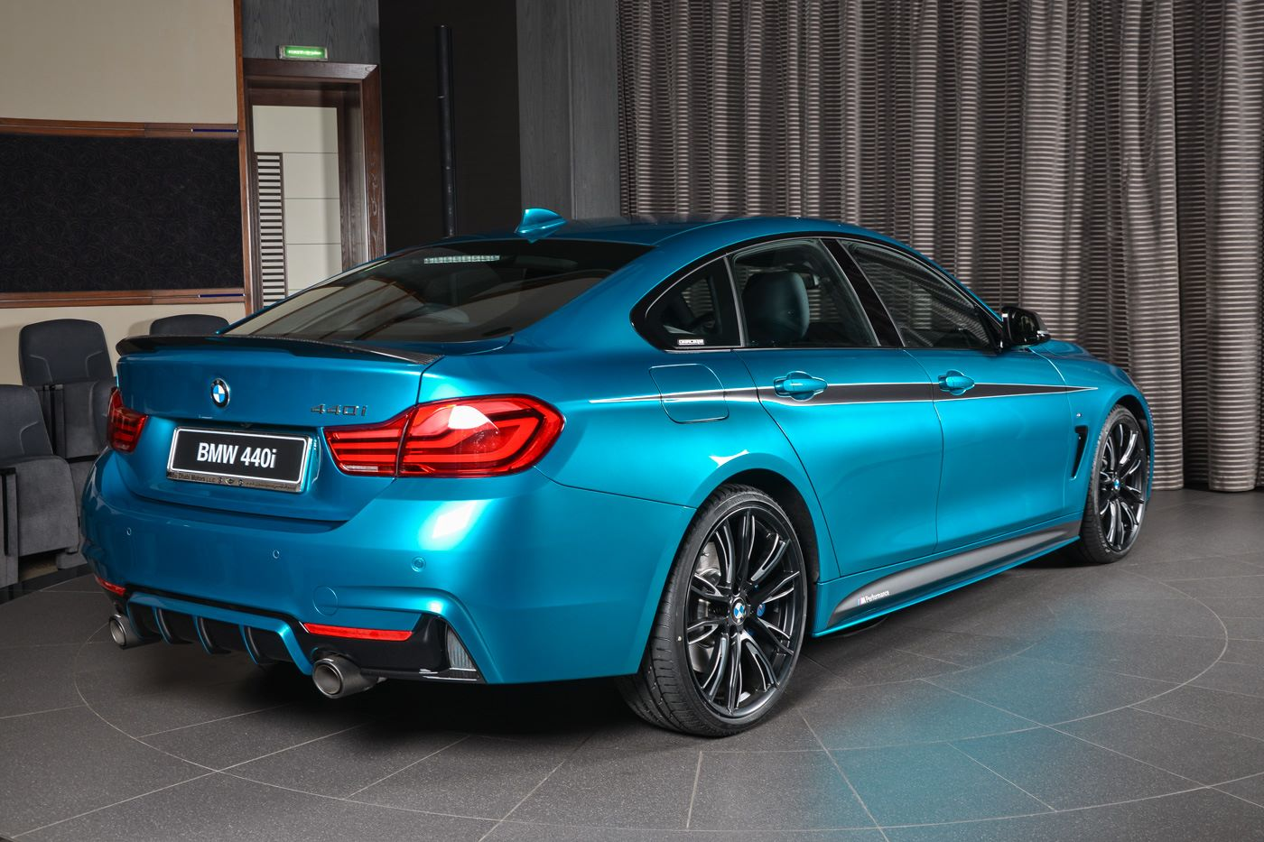 Bmw Aba Dhabi Gives 440i Gc Full M Performance Options Performancedrive
