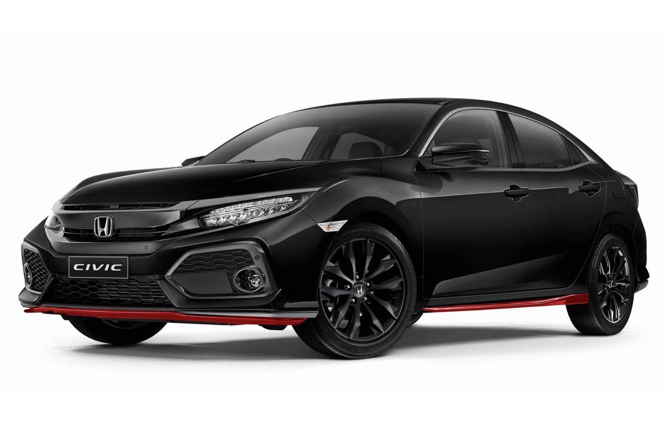 honda civic red edition celebrates type r arrival in. Black Bedroom Furniture Sets. Home Design Ideas