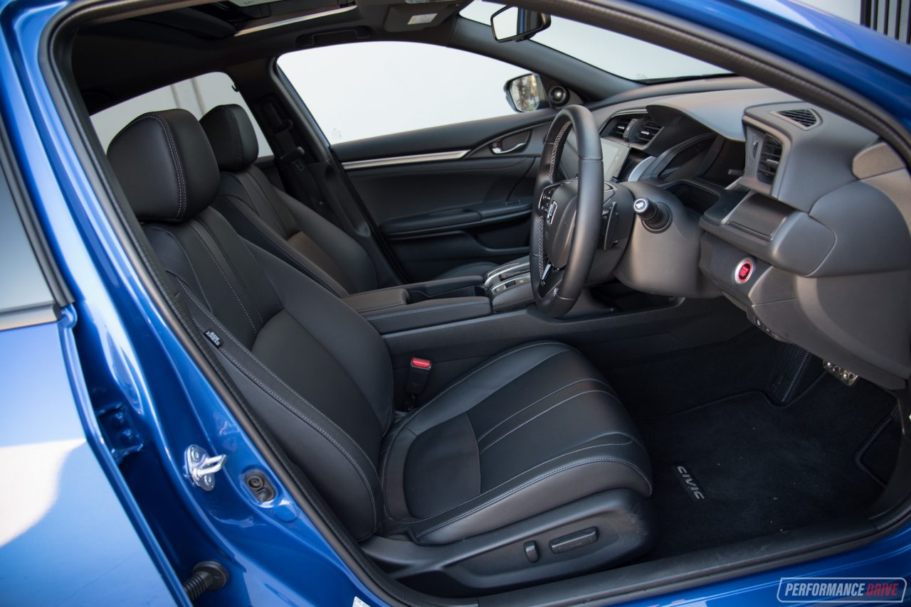 2017 Honda Civic Vti Lx Hatch Review Performancedrive