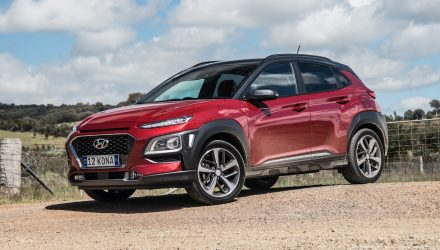 2017 Hyundai Kona Highlander-red