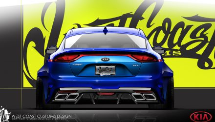 SEMA-bound Kia Stinger project shows off tuning potential