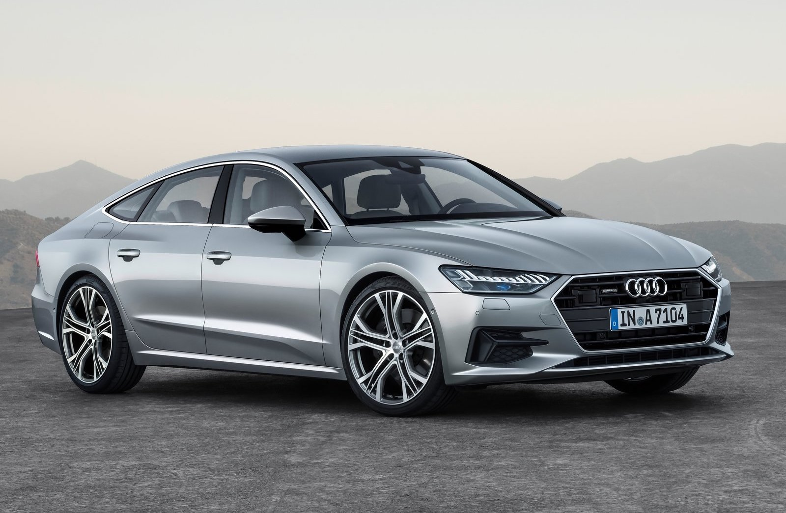2018 audi a7 sportback revealed gets mild hybrid tech performancedrive. Black Bedroom Furniture Sets. Home Design Ideas