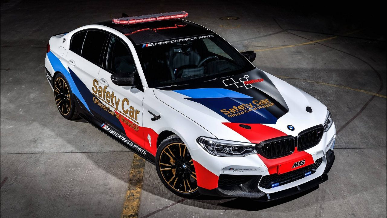 2018 bmw m5 m performance parts revealed with motogp car performancedrive. Black Bedroom Furniture Sets. Home Design Ideas