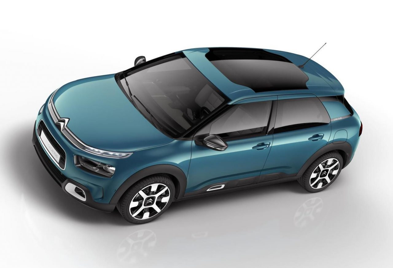 new citroen c4 cactus revealed on sale late 2018 performancedrive. Black Bedroom Furniture Sets. Home Design Ideas