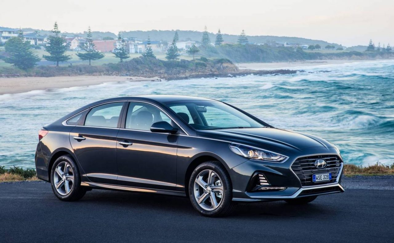 2018 hyundai sonata now on sale in australia 8spd auto for flagship performancedrive. Black Bedroom Furniture Sets. Home Design Ideas