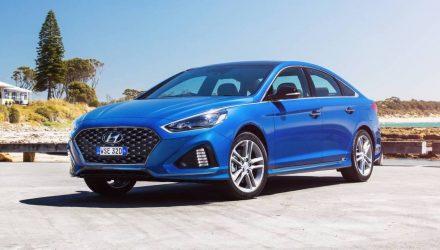2018 Hyundai Sonata now on sale in Australia, 8spd auto for flagship