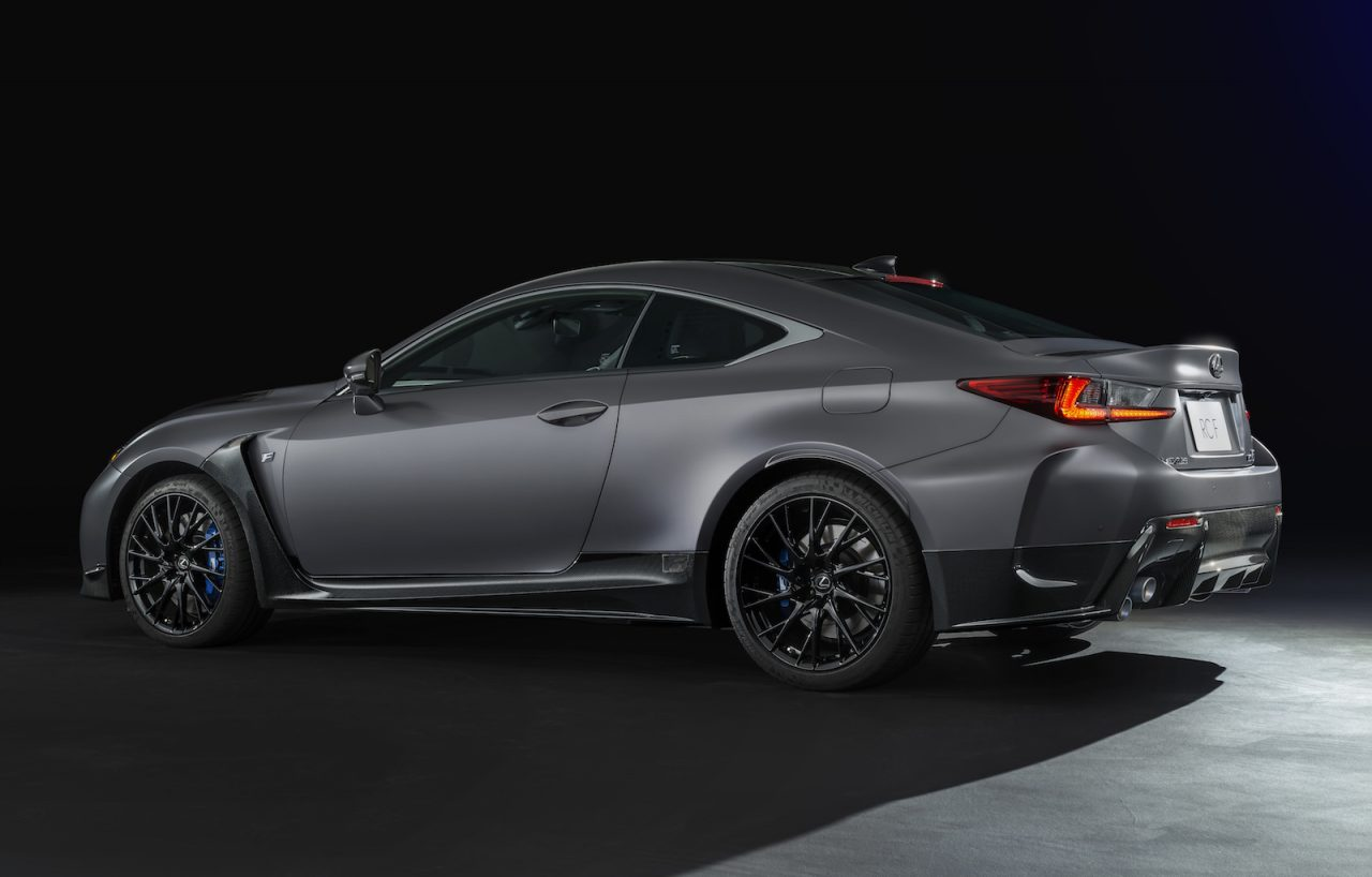 Lexus RC F & GS F matte grey special editions coming to ...