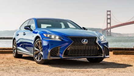 Lexus confirms new concept bound for Tokyo – LS F?