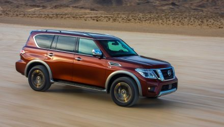 2018 Nissan Patrol Y62 updates announced for Australia
