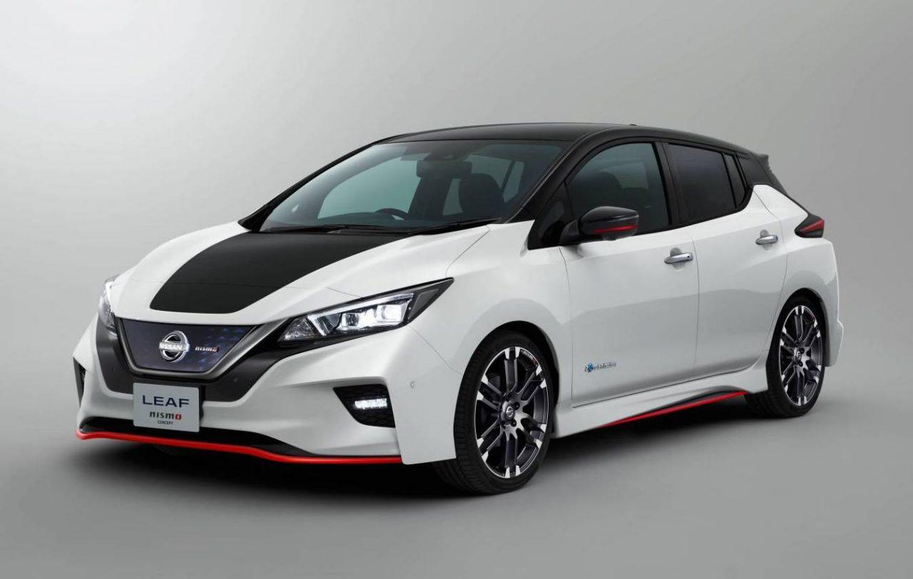 Nissan LEAF Nismo concept heading to Tokyo show   PerformanceDrive