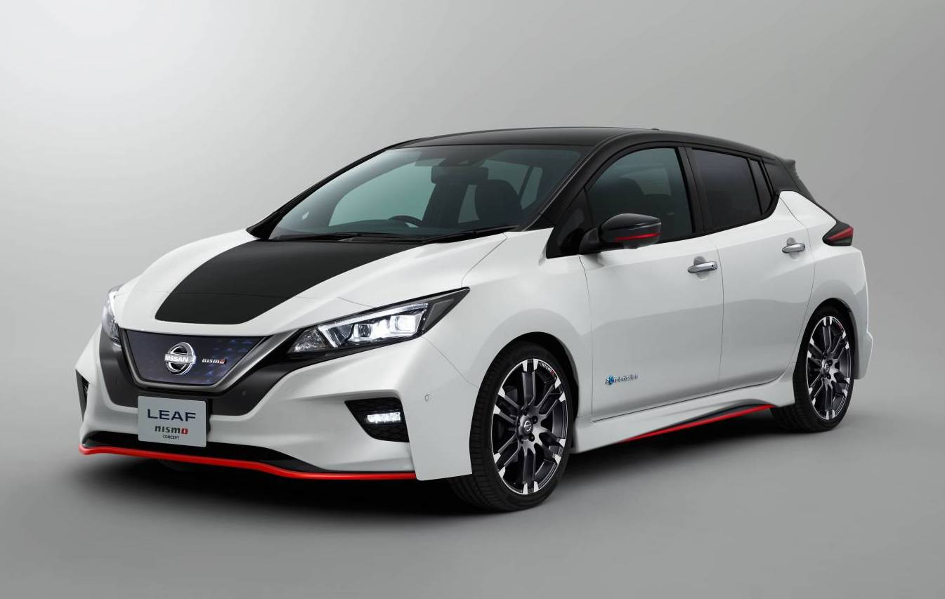 Nissan Leaf Nismo Concept Heading To Tokyo Show