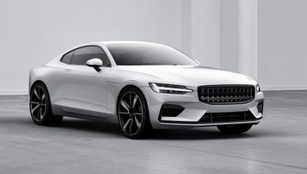 Polestar 1 revealed with new 600hp hybrid powertrain
