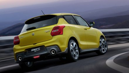 New Suzuki Swift Sport arrives in Australia Q1, 2018