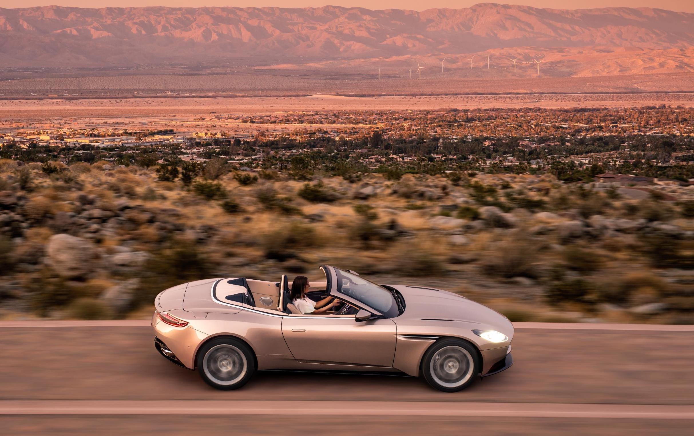 Aston Martin unveils the drop-top DB11 Volante Convertible