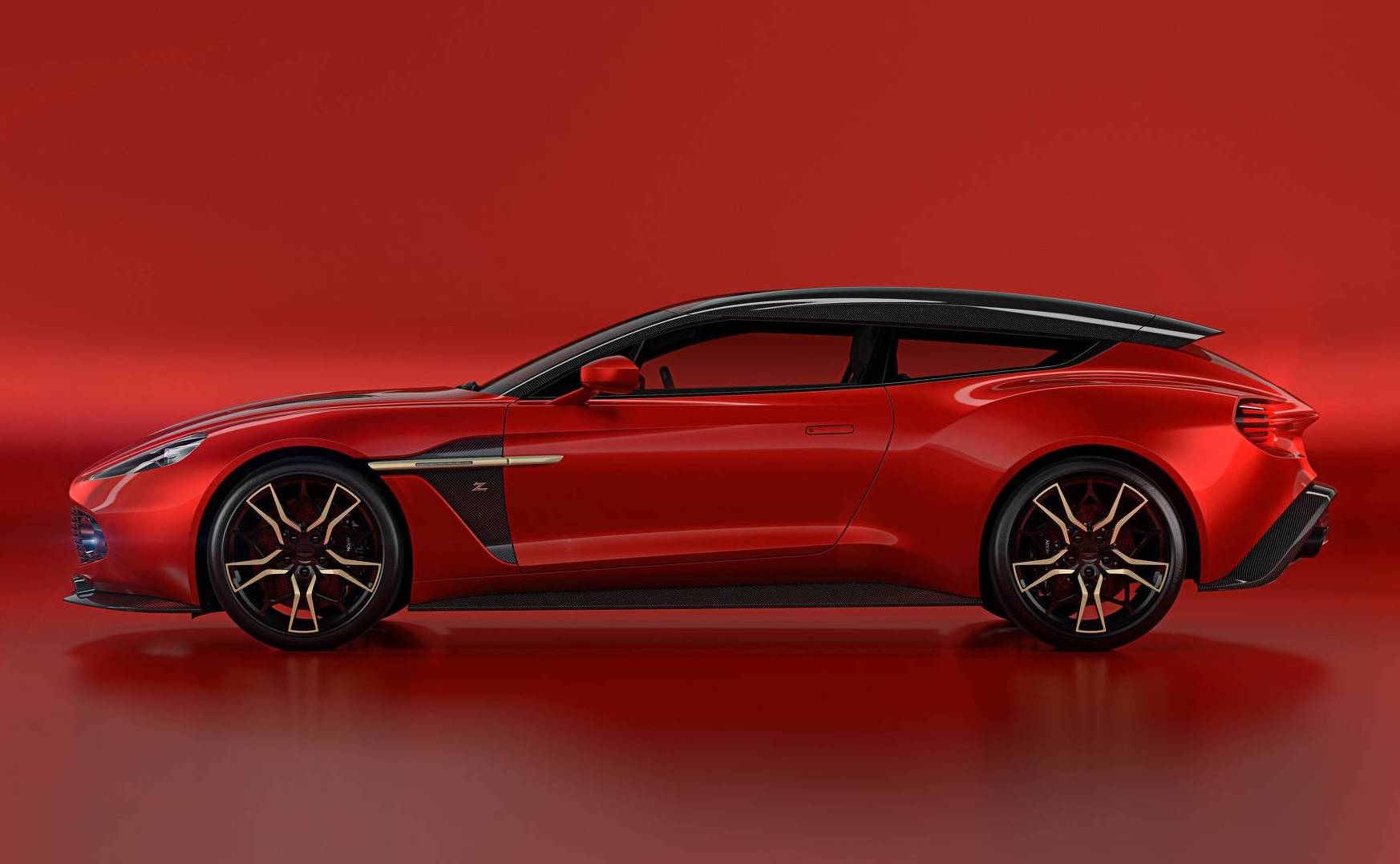 aston martin vanquish zagato shooting brake is one sexy wagon performancedrive. Black Bedroom Furniture Sets. Home Design Ideas