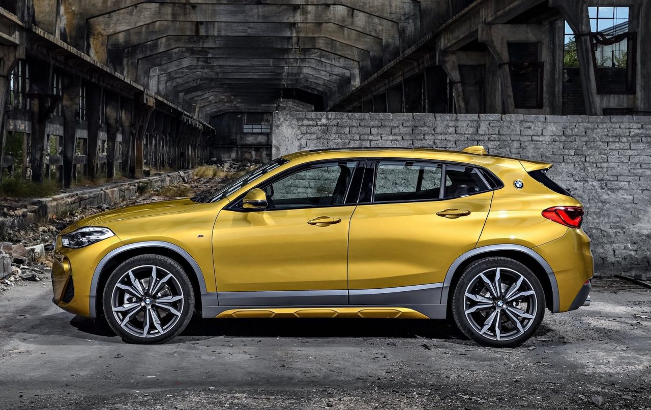 bmw x2 officially revealed debuts m sport x option performancedrive. Black Bedroom Furniture Sets. Home Design Ideas