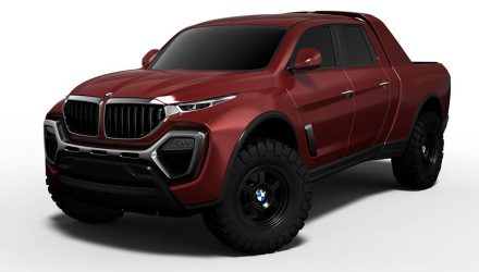 BMW pickup truck / ute rendered, worthy Mercedes X-Class rival?