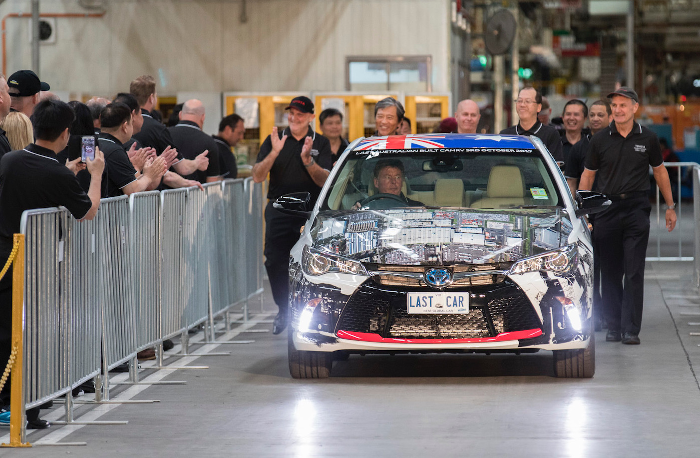 Toyota ends Australian vehicle production