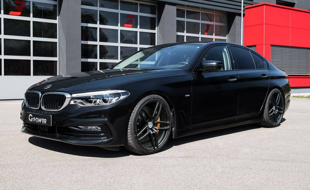 g power tunes up the new bmw 5 series including m550d. Black Bedroom Furniture Sets. Home Design Ideas