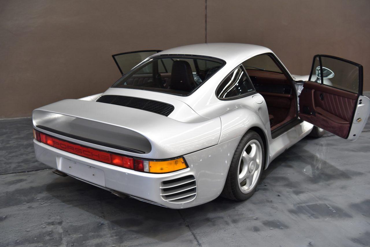 Gosford Classic Car Auction Porsche Rear X
