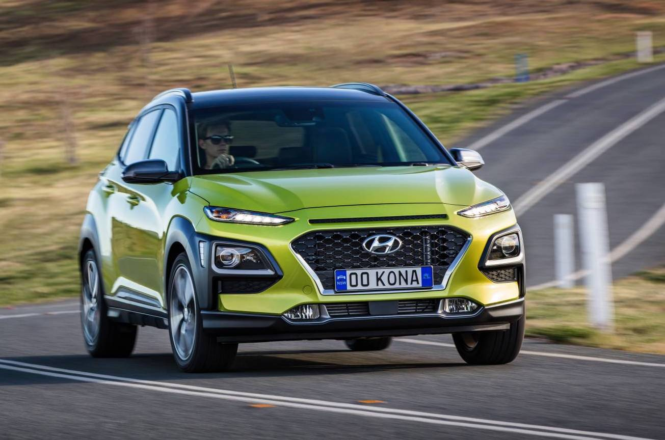 hyundai kona on sale in australia from 24 500 performancedrive. Black Bedroom Furniture Sets. Home Design Ideas