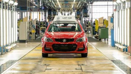 Last Holden made in Australia rolls off production line