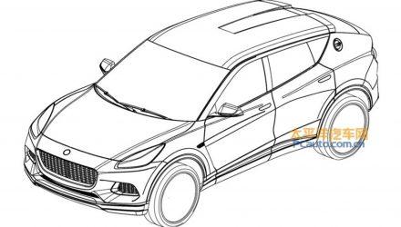 Lotus SUV design revealed via leaked patent images