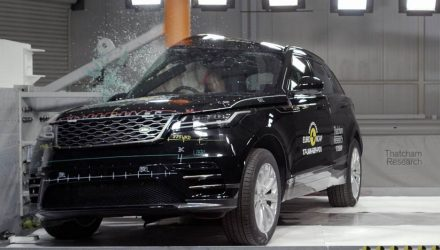Range Rover Velar scores five-star ANCAP safety rating