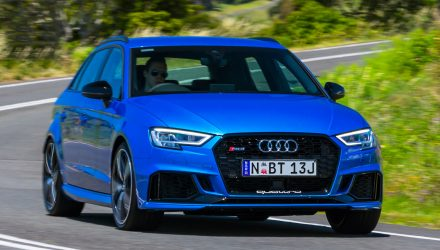 294kW Audi RS 3 Sportback now on sale in Australia