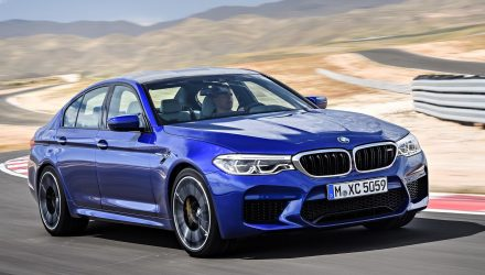 2018 BMW M5 on sale in Australia from $199,900, arrives Q2