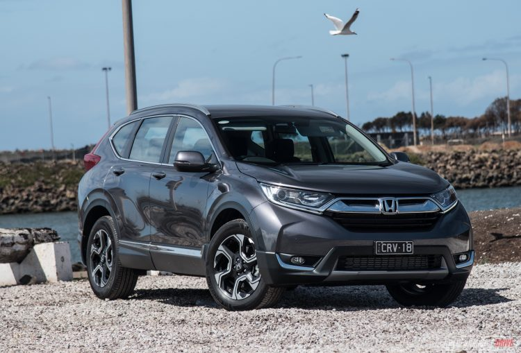 Honda Australia Offers A Variety Of Five Different Variants Of The New  Model, Including Front Wheel Drive And Four Wheel Drive Options, And A New  Seven Seat ...