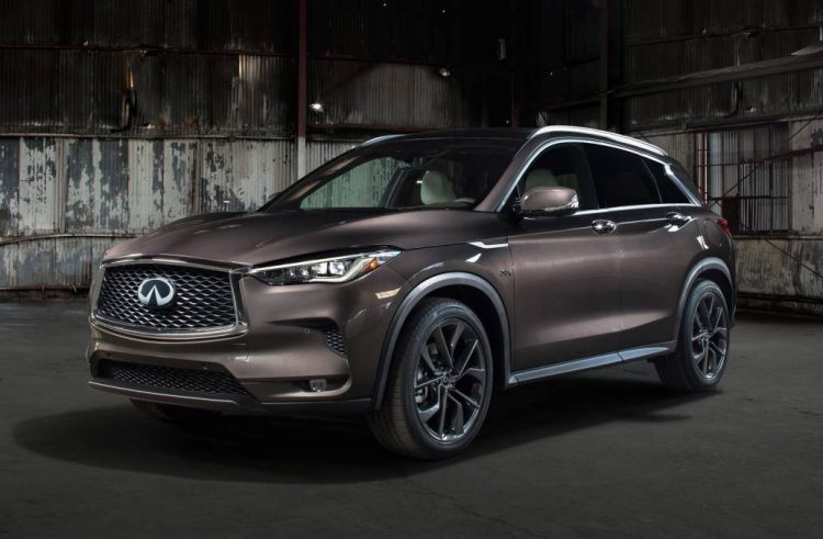 Infiniti QX50 revealed with high-tech engine