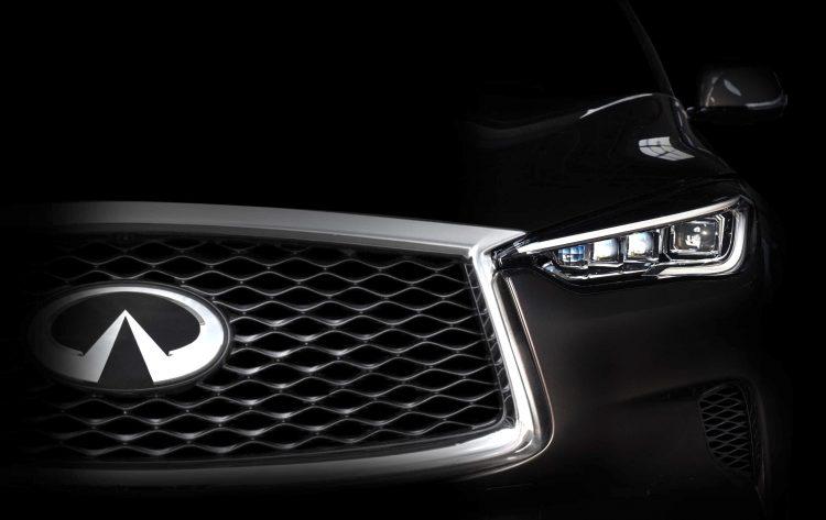 Infiniti previews all-new model for LA show, QX50 medium SUV