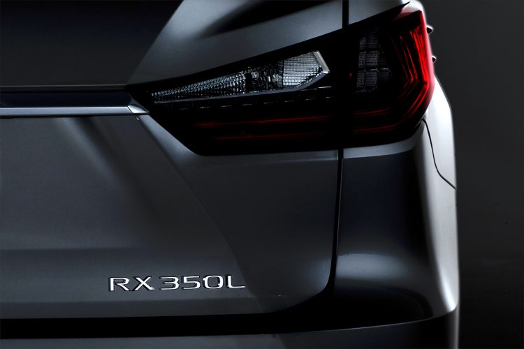 Lexus has announced the debut of the new three-row crossover RXL