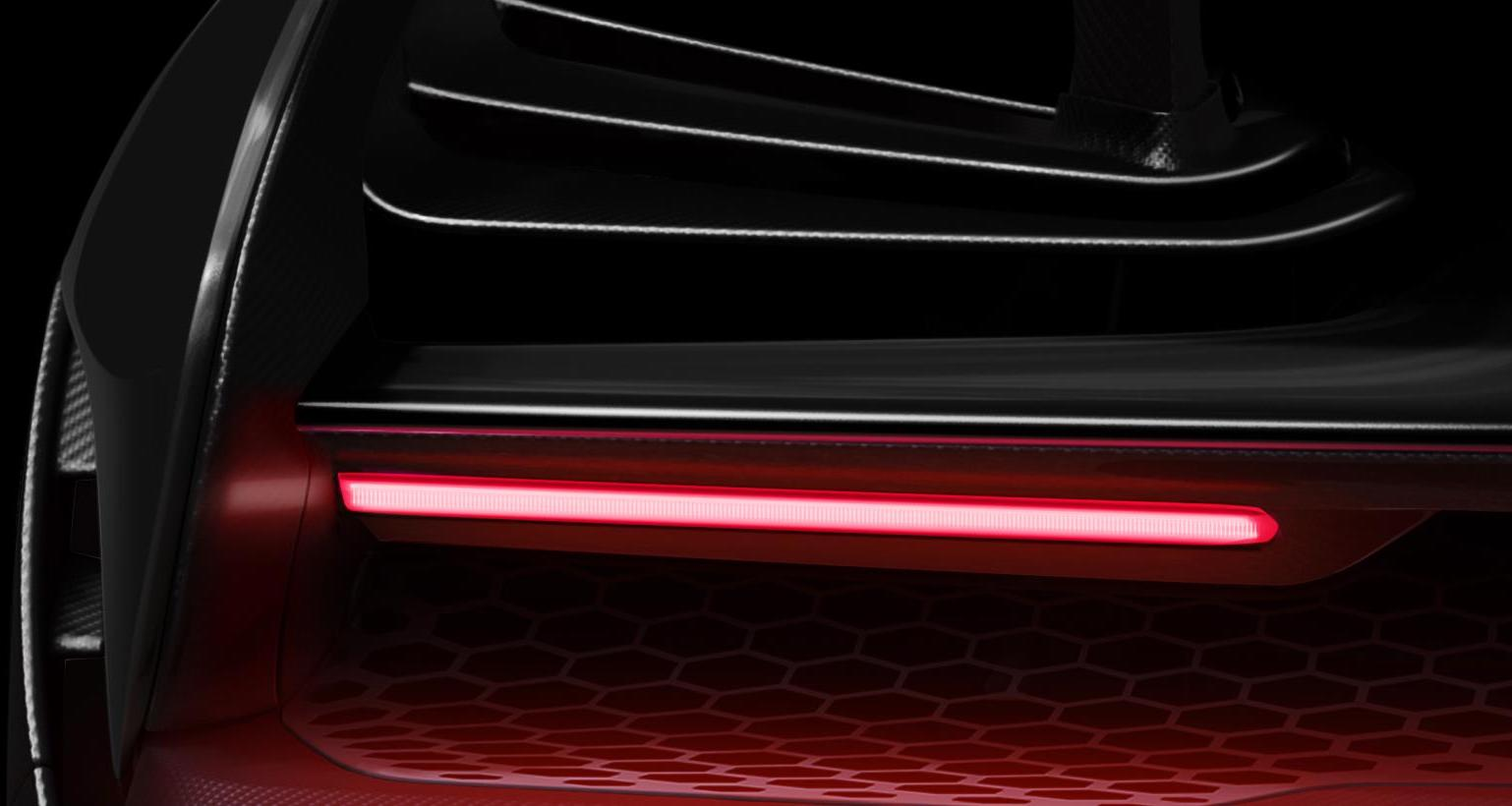 McLaren P15 teased, reveal set for December 10