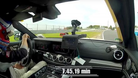2018 Mercedes-AMG E 63 S Estate Nurburgring record