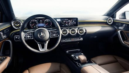 Classy 2018 Mercedes-Benz A-Class interior revealed