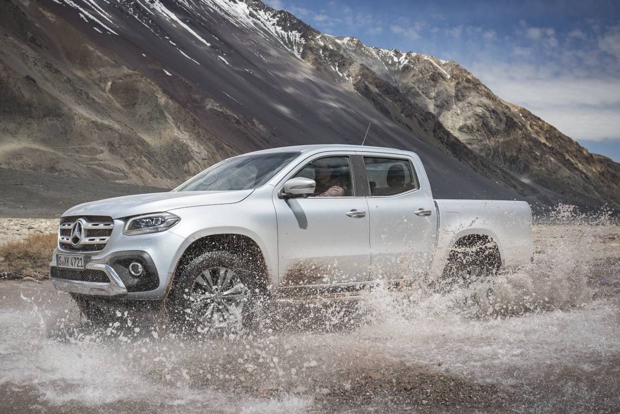 mercedes benz x class prices announced on sale from 45 450 performancedrive. Black Bedroom Furniture Sets. Home Design Ideas