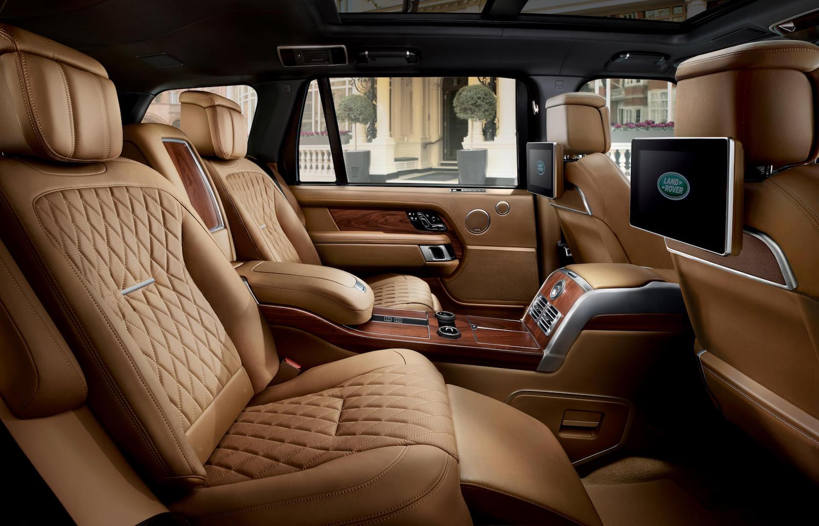 2018 Range Rover Autobiography-rear interior |