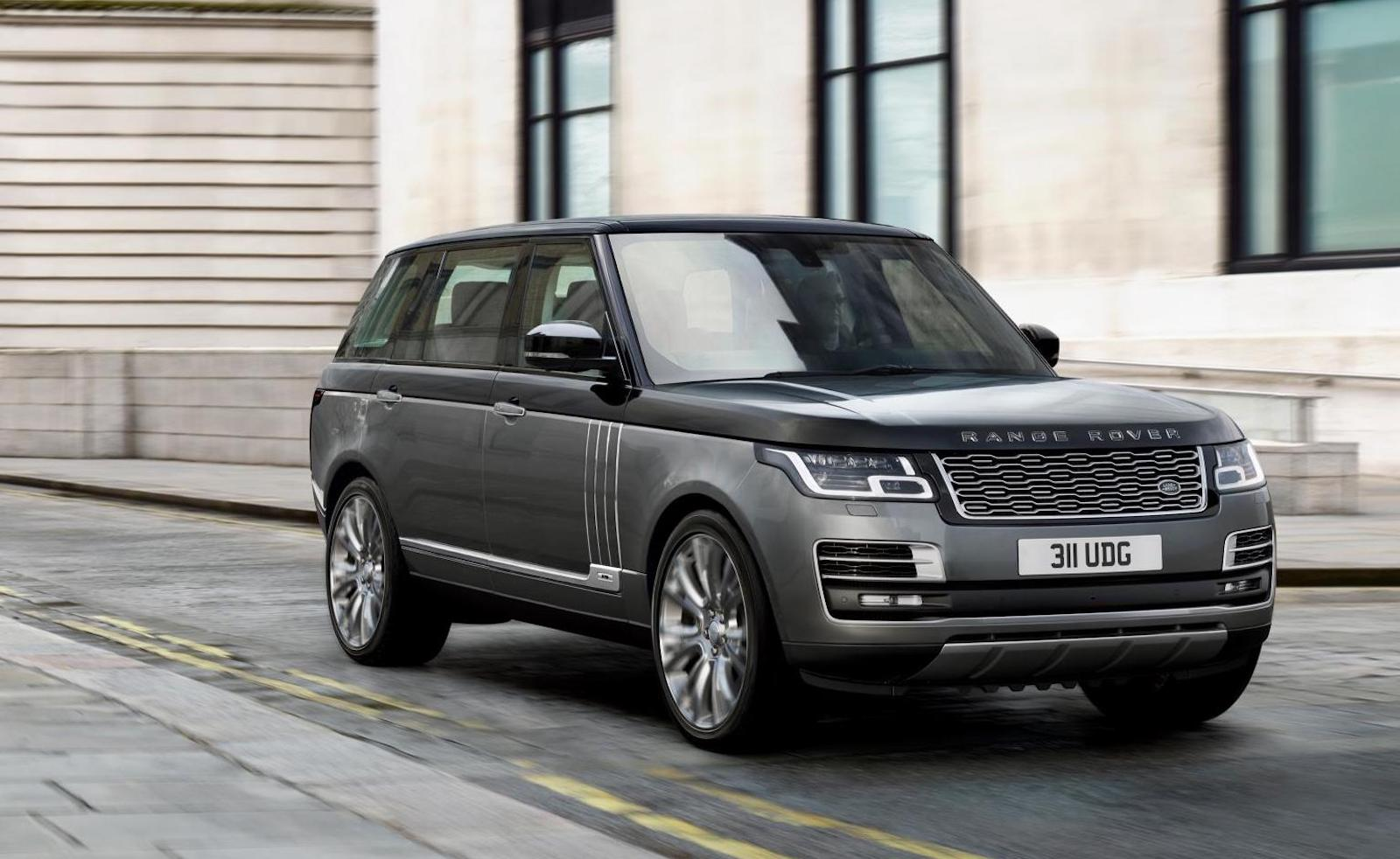 2018 range rover autobiography debuts with phev option lwb only performancedrive. Black Bedroom Furniture Sets. Home Design Ideas