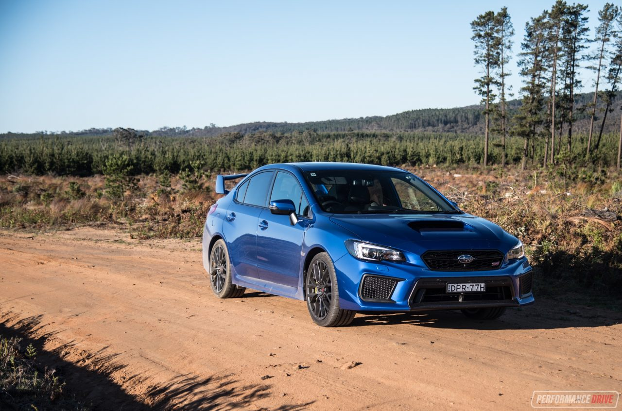 2018 subaru wrx sti review spec r premium video performancedrive. Black Bedroom Furniture Sets. Home Design Ideas