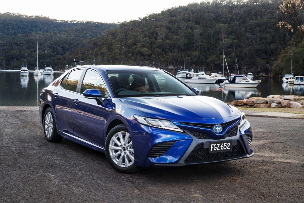 2018 toyota camry now on sale in australia with v6 option performancedrive. Black Bedroom Furniture Sets. Home Design Ideas