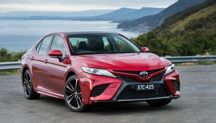 2018 Toyota Camry now on sale in Australia, with V6 option