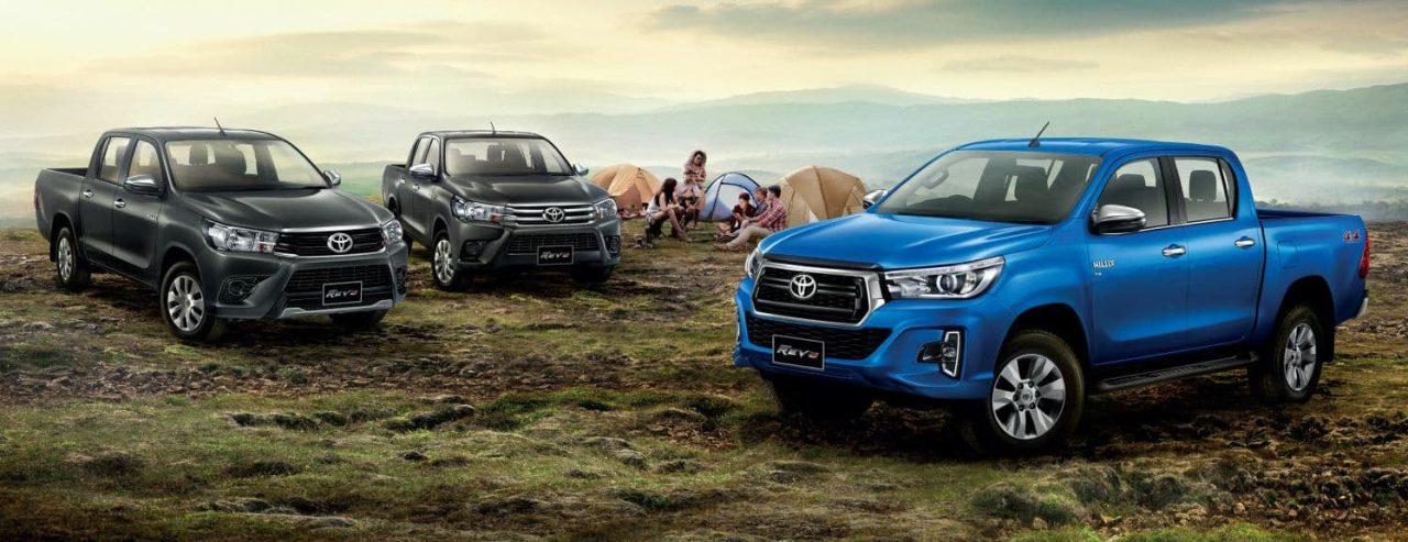 2018 Toyota Hilux Facelift Leaks Online As Thai Hilux