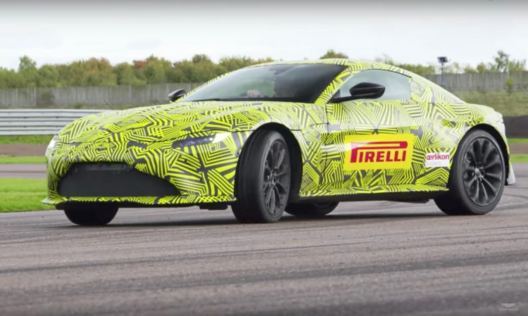 Aston Martin Vantage GTE Unveiled For The World Endurance Championship