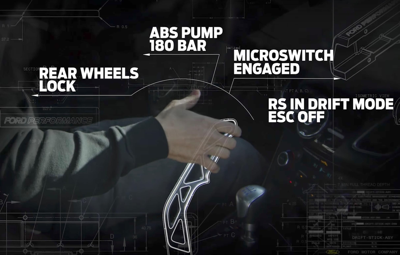 Benz Drift Car >> Ford Focus RS offered with factory 'Drift Stick' handbrake ...